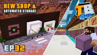 AUTOMATED STORAGE SORTER & a new shop! | Truly Bedrock Season 2 [32] Minecraft Bedrock