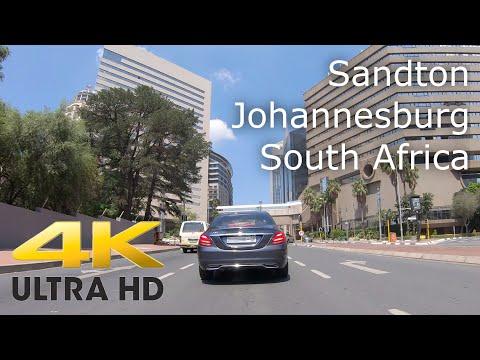 Sandton, Johannesburg in 4K.