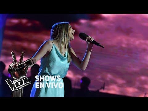 Shows en vivo #TeamTini: Isabel canta