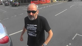 Kingston Cyclist Defends himself with D-Lock in Road Rage Attack (HV02 XZH)
