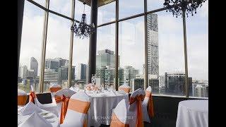 Modern Orange + Crisp White Wedding, styled by Enchanted Empire, Event Artisans