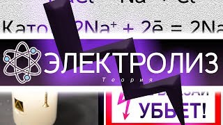 Электролиз - теория процесса. [ChemistryToday]