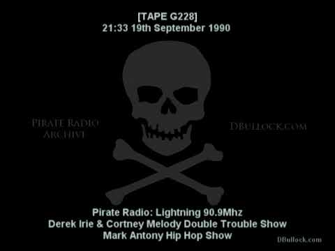 [G228] Lightning Fm ~ 19/09/1990 ~ Brixton Pirate Radio