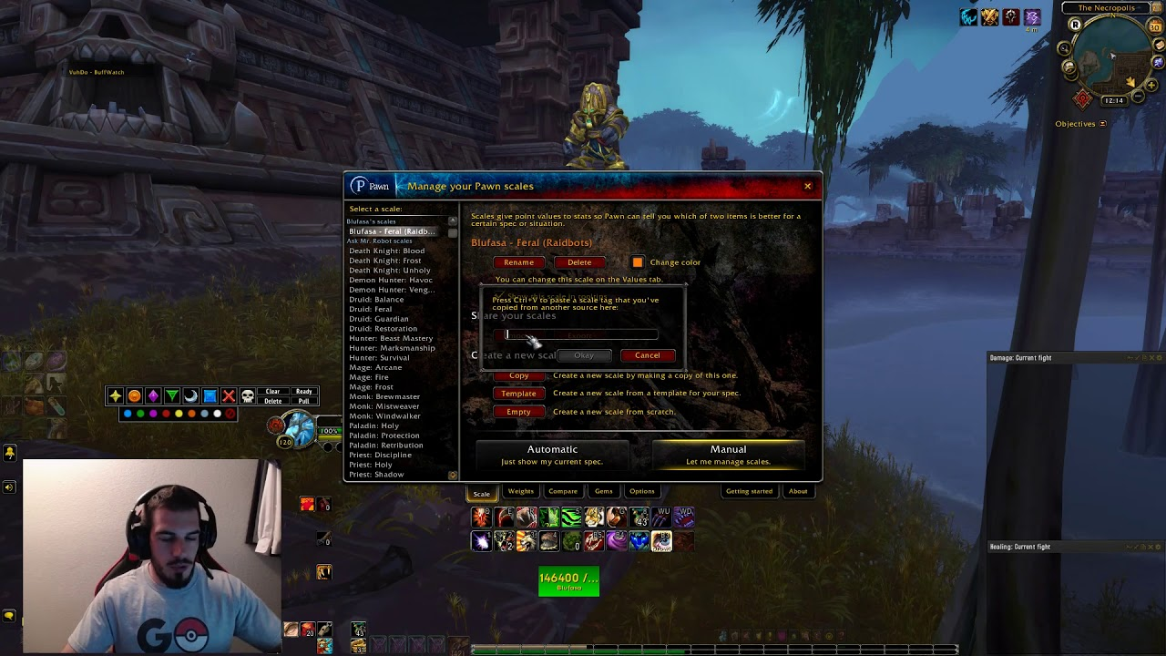 Be Your Best Feral With Addons Youtube