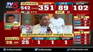 EXCLUSIVE : Siddaramaiah Reacts about Results | Loksabha Election 2019 | TV5 Kannada