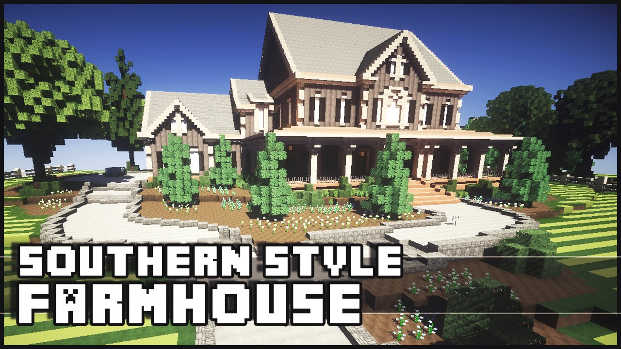 50 inspired how to build a farmhouse in minecraft for Building a farmhouse