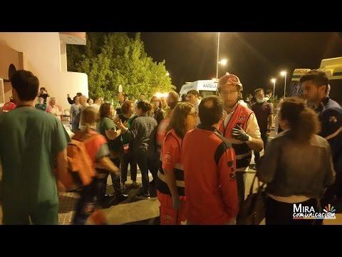 Incendio en el Hospital de Jerez