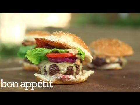 Ralph Lauren Ranch Burger | BA Summer Grilling Manual