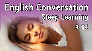★ Sleep Learning ★ English Listening Practice, With Subtitles #04 (8 Hours)