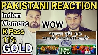 Pakistani Reacts ON   Top 10 RARE facts about India You never heard Before