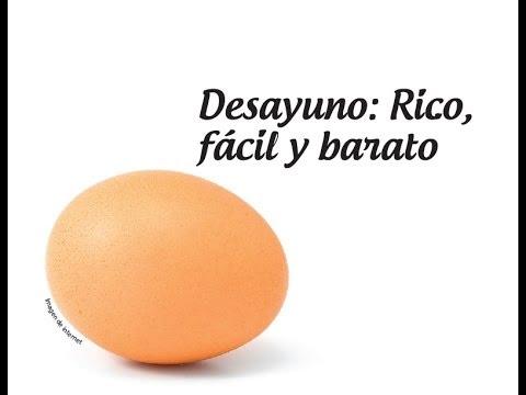 Desayuno: Rico, fácil y barato ❤ | Yadira Posada