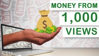 How Much Money YouTube Pays For 1,000 Views In 2019