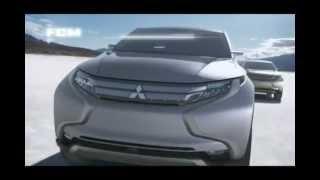 ม ตซ บ ช 2013 2014 mitsubishi concept gr hev model all new triton
