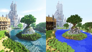 Minecraft 2.0 – Extreme Graphics + Ray Tracing / Path Tracing PTGI