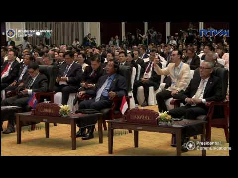 Closing Ceremony of the 28th and 29th ASEAN Summits and Related Summits 9/8/2016
