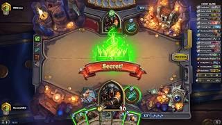[ PC ] Hearthstone Whizbang Deck Hunter I Hunt Alone Full Ranked Game 2