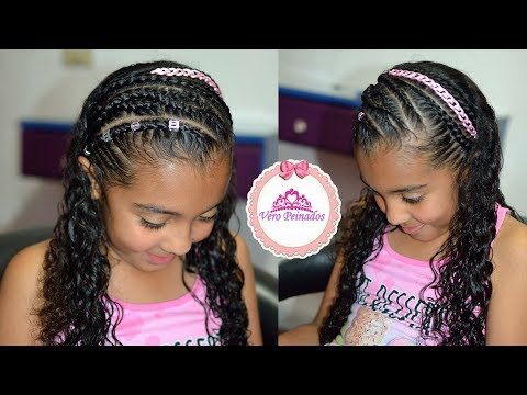 Peinados Kata Trenzas Infantiles Fiesta Cumpleanos Www