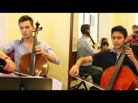 Cello masterclass at Mehli Mehta Music Foundation in Mumbai