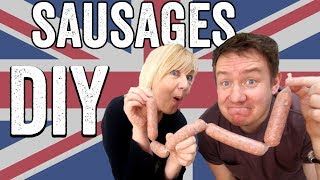 Homemade UK Sausage Recipe (Bangers)