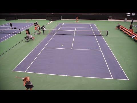 Texas Women's Tennis vs Stanford highlights [Feb. 17, 2018]