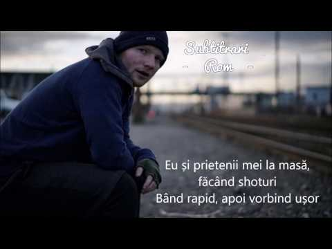 Ed Sheeran - Shape Of You (Subtitrat in Romana)