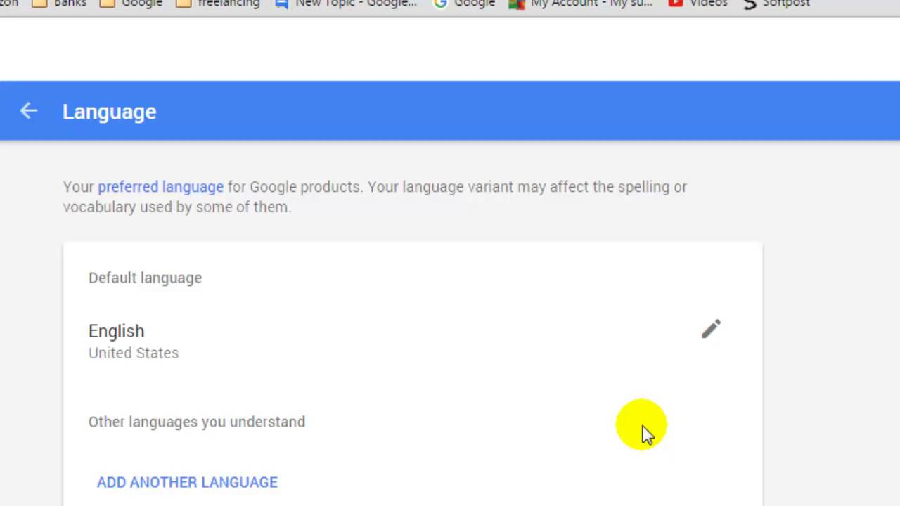 Google Play Konto ändern How To Change Language In Google Account