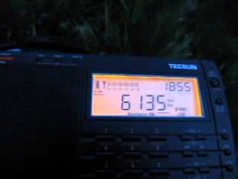 Republic of Yemen Radio 6135 kHz received in Germany on Tecsun PL-660