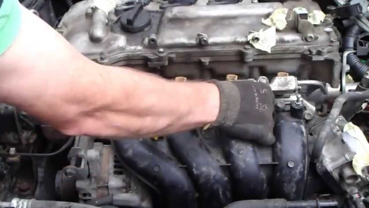 disassemble intake manifold toyota corolla years