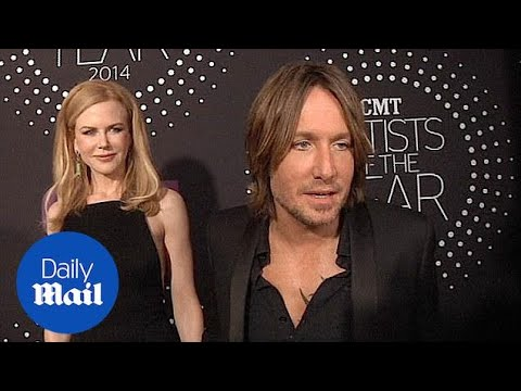 Keith Urban, Nicole Kidman At CMT Artist Of The Year Awards - Daily Mail