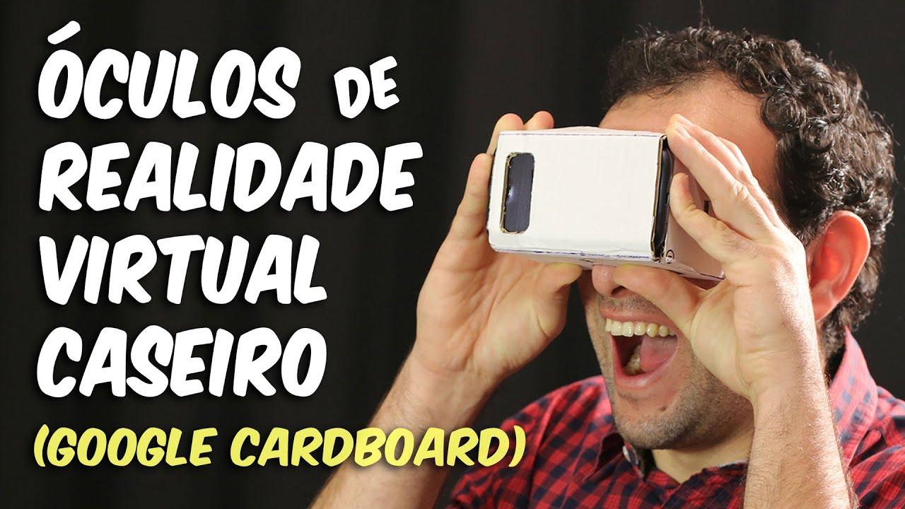 a4b5d9e0b Como fazer o óculos de realidade virtual caseiro | Como fazer o ...