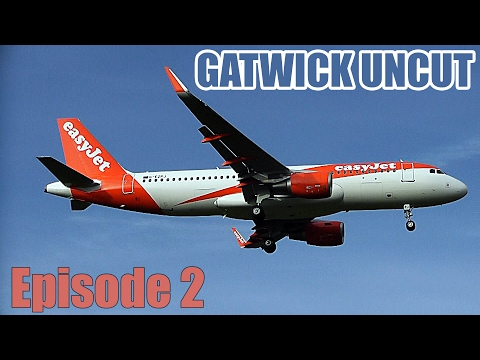 Gatwick Uncut: 20 Mins of Non-Stop Crosswind Action at LGW/E