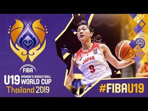 Japan V Germany - Full Game - FIBA U19 Women's Basketball World Cup 2019