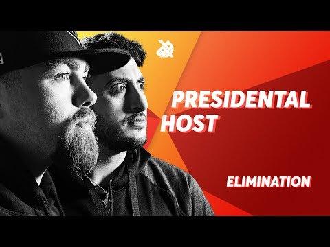 PRESIDENTAL HOST (Scott Jackson & BBK)  |  Grand Beatbox TAG TEAM Battle 2018  |  Elimination
