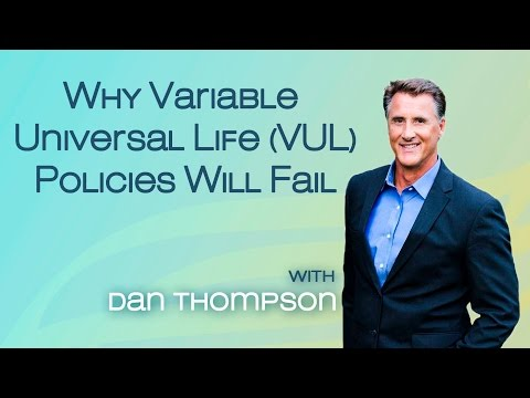 Why A Variable Universal Life (VUL) Will Fail - Quick Version - Safe Money