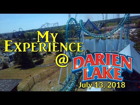 Six Flags Darien Lake - My Experience - July 13, 2018