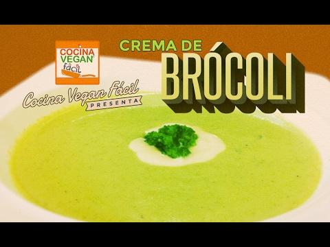 Crema de brócoli - Cocina Vegan Fácil
