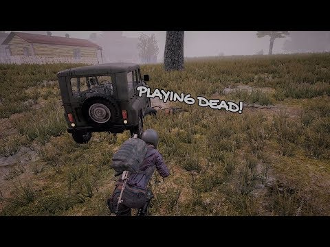 Playing Dead (PUBG Baiting #035)