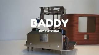 BADDY V2 DIY Tutorial - #6 Adjust servo motors positions