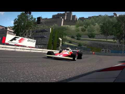 F1 2013 : 1970's time trial @ Monaco