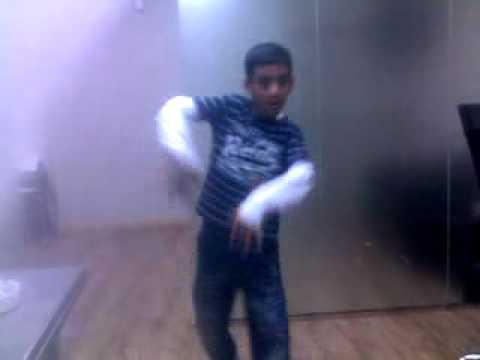Hasmat dancing in office