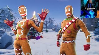 'New GRIMBLES SKIN' Fortnite live Game Play! 200 sous grind !