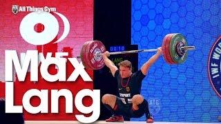 Video Max Lang 150kg Snatch 189kg Clean & Jerk 2015 World Championships download MP3, 3GP, MP4, WEBM, AVI, FLV September 2017