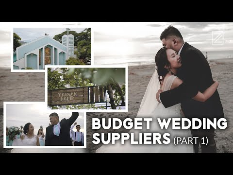 OUR WEDDING SUPPLIERS (Part 1) Zambales Wedding | DIY Wedding Planning Tips #WeTheTZN | VLOG #95