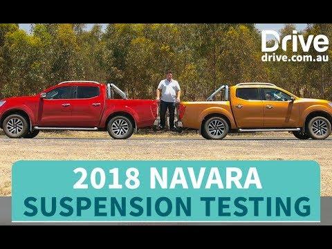2018 Navara Suspension Testing   Drive.com.au - Dauer: 115 Sekunden