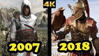 Evolution of Assassin's Creed (2007-2018)