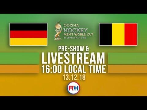 Germany v Belgium | 2018 Men's Hockey World Cup | FULL MATCH LIVESTREAM