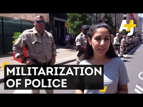 The Militarization Of Police In Cleveland | Direct From With Dena Takruri - AJ+