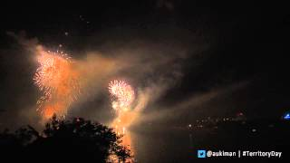 Territory Day Fireworks Video