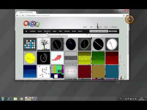 Okozo Desktop - Dùng hình động làm nền desktop
