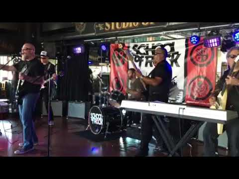 School of Rock Tustin Adult Band Original Mike's 9-9-17 Ballroom Blitz